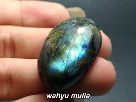 Batu Akik Labrador Murah batu labradorite sinar biru asli kode 804 wahyu mulia
