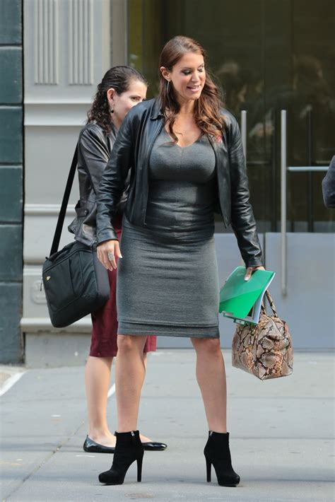 Stephanie Mcmahon Out In New York City October 2015