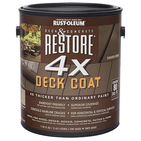 restore  deck coat