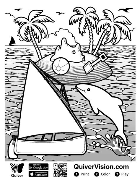Quiver Coloring Page by Diary Of A Techie How Was Your Summer