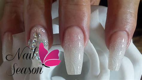 acrylic nail art tutorial for beginners diy acrylic nails baby boomer nail art tutorial for