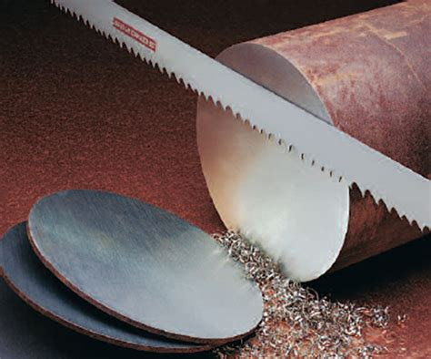 blade material bandsaw blades cut wide variety of materials