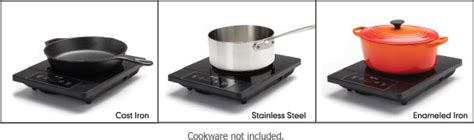 induction cooking materials professional induction cooktop and frying pan aroma housewares
