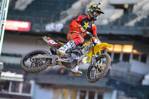 Davi Millsaps Suzuki Rockstar Energy Racing Suzuki S Davi Millsaps Retained His