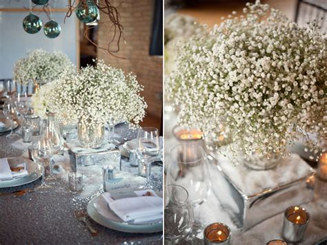 baby s breath centerpieces beautiful photos of wedding centerpieces with baby s breath wedwebtalks