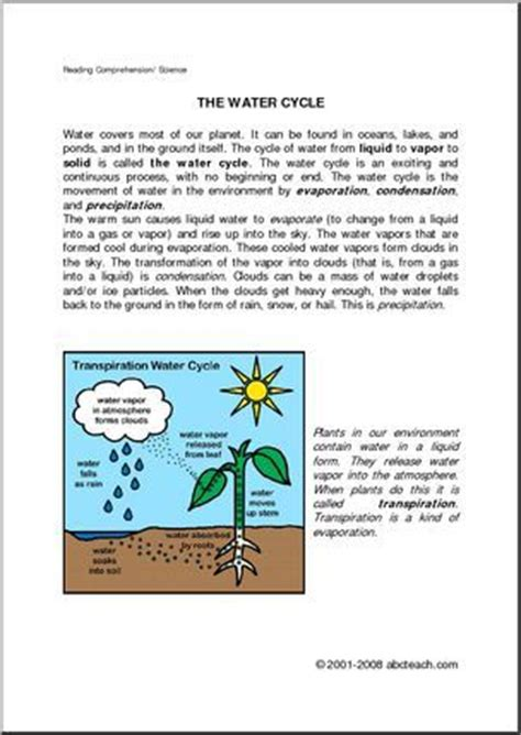 Water Cycle Essay by Water Cycle Essay
