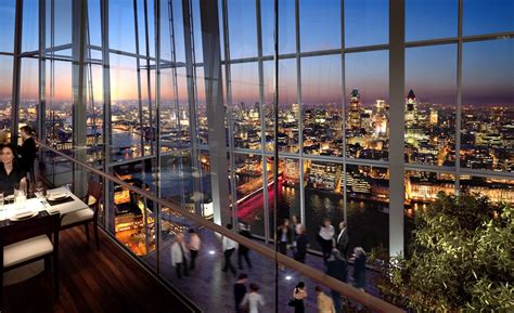 Top Of The Shard Bar by Food For Suits Business Eat Drink