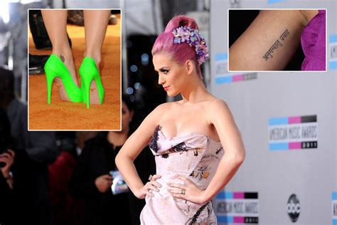 katy perry tattoo go with the flow like father like daughter stuff co nz