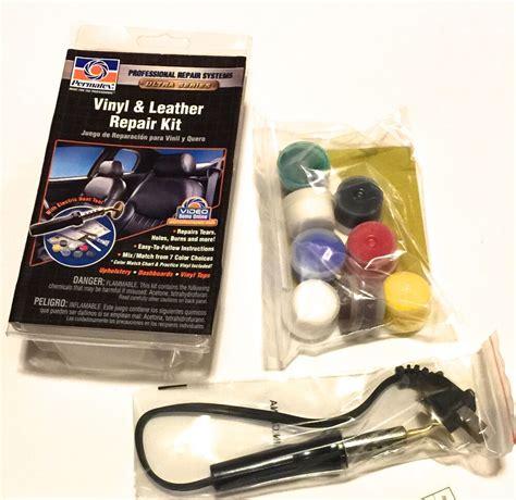 How To Repair Vinyl Upholstery by Upholstery Vinyl Leather Complete Repair Kit Dries