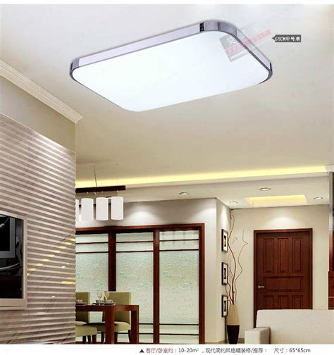 Kitchen Ceiling Lighting by Slim Fixture Square Led Light Living Room Bedroom Ceiling