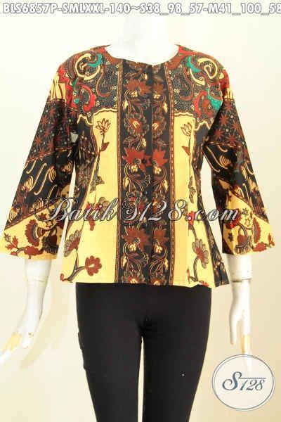 Baju Batik Resmi Elegan baju batik klasik elegan dan berkelas pakaian batik wanita untuk santai dan resmi model tanpa