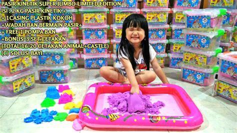 Pasir Ginetik jual pasir warna mainan anak mainan anak