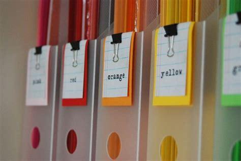 Organizing Craft Paper - paper organization organize paper