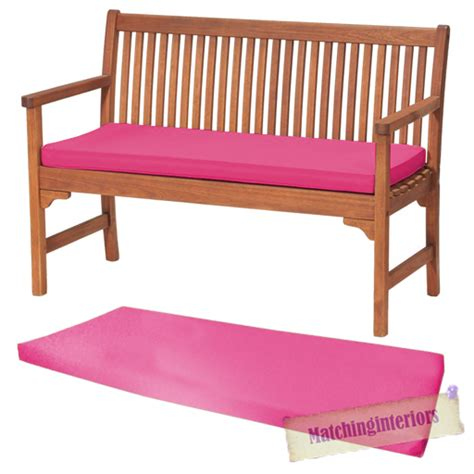 pink bench pink 2 or 3 seat bench swing garden seat pad home floor