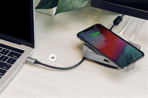 moshi symbus q un dock usb c pour mac et chargeur qi pour iphone macgeneration