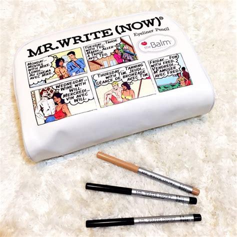 The Balm Mr Write 24 the balm cosmetics other new mr write now eyeliner set from kaiti s closet on poshmark