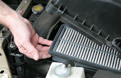 replace  engine air filter  driving  extreme conditions