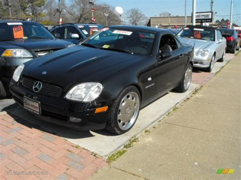 2000 mercedes slk230 2000 black mercedes slk 230 kompressor roadster