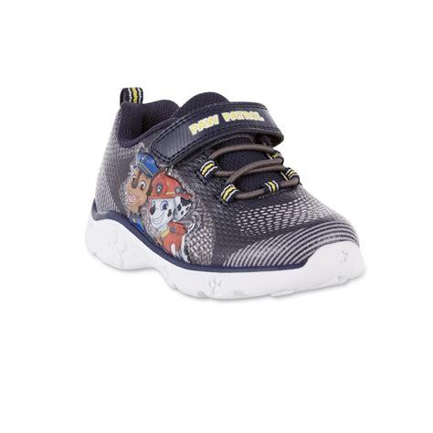 nickelodeon toddler boys paw patrol light  sneaker blue