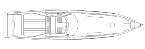 rc speed boat design free dwg cad block of a speed boat cadblocksfree cad
