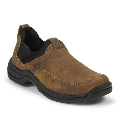 justin s casual slip on shoes boot barn