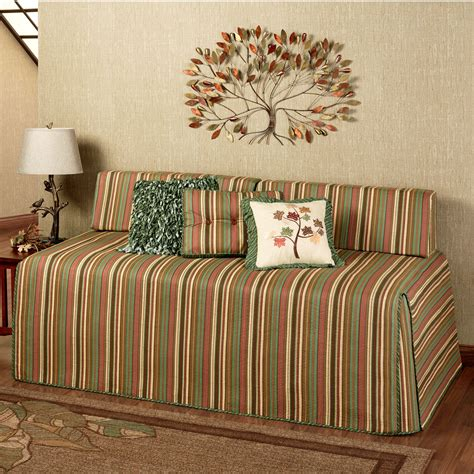 day bed cover riverpark striped quilted hollywood daybed cover