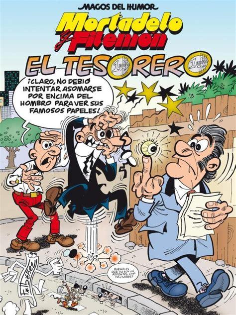 libro mortadelo y filemn tijeretazo mortadelo y filemn persiguen al tesorero del partido papilar en el nuevo lbum de ibez abc es