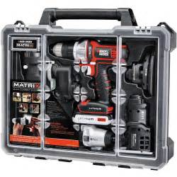 black decker tools deal black decker matrix 6 tool combo kit w
