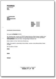 Musterbrief Widerspruch Abmahnung Urheberrechtsverletzung Beliebte Downloads Haus Wohnen 187 Dokumente Vorlagen