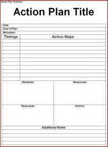 action plan templates free 2016 resume business template