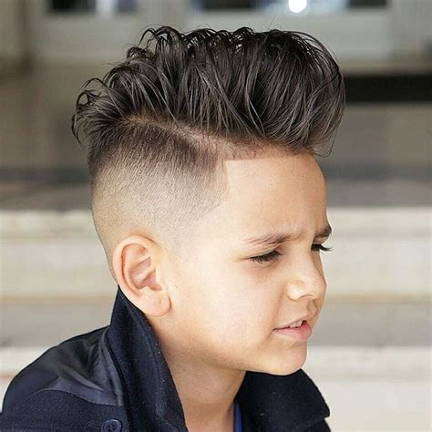 Hairstyles For Boys With Hair by 17 Best Ideas About Boys Hairstyles On