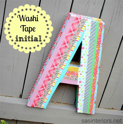 uses for washi tape colorful washi tape initial jenna burger
