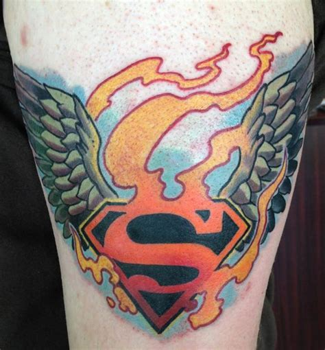 big easy tattoo 22 best superman ideas images on