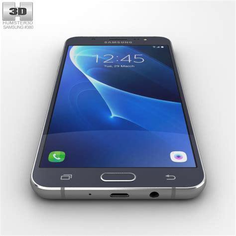 Samsung J7 2016 Hello Black Custom samsung galaxy j7 2016 black 3d model hum3d