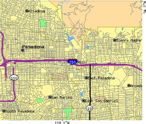 zip code map pasadena ca 91107 zip code pasadena california profile homes