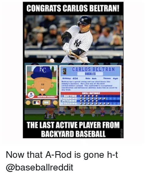 Backyard Baseball Meme Carlos Memes Of 2017 On Sizzle Carlo