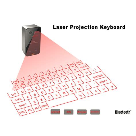 amazoncom laser projection virtual keyboard computers mini portable laser virtual projection keyboard and mouse