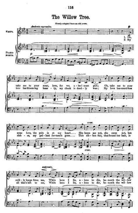 willow pattern song lyrics 36 best images about sheet music on pinterest music