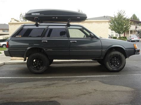 subaru loyale lifted ultimate rc forums 1990 subaru loyale