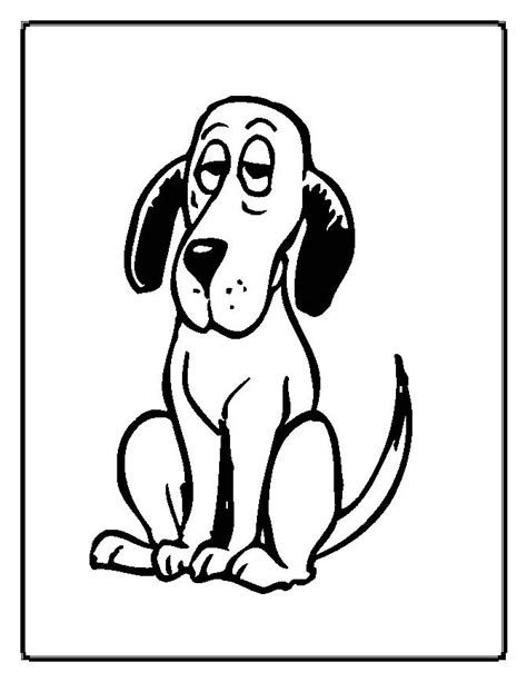 coloring pages of cartoon dogs cartoon dog coloring pages az coloring pages