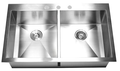36 inch top mount drop in stainless steel bowl