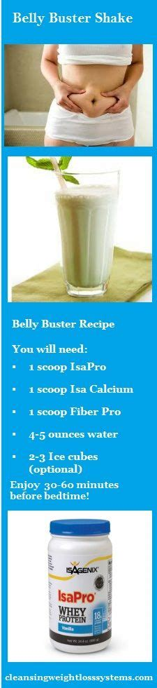 Bedtime Belly Detox by Isagenix Belly Buster Recipe Food Drink Ideas