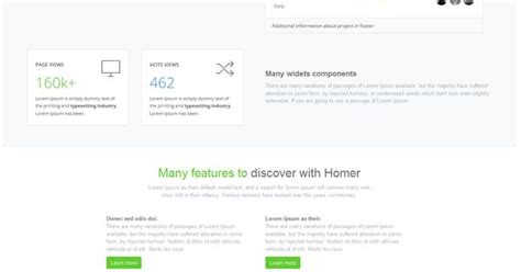 bootstrap themes homer homer admin theme is a premium admin dashboard theme with