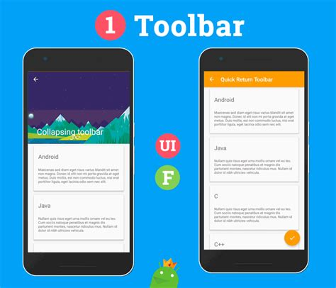 android material design layout animation android ultimate material design ui features template