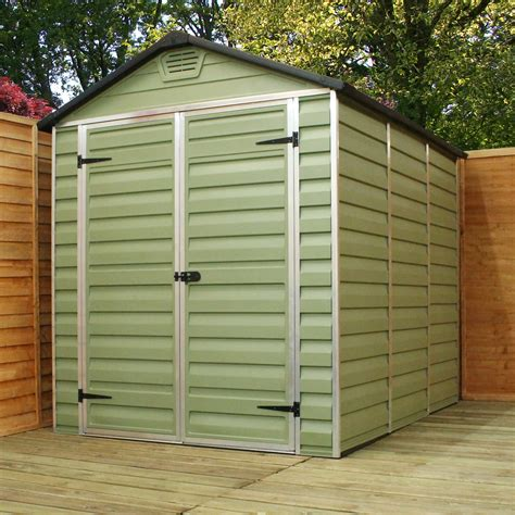 shedswarehouse oxford plastic sheds 10ft x 6ft