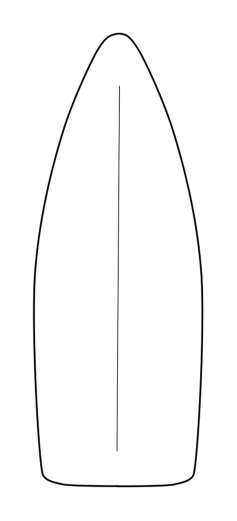 surfboard template by emi ku on deviantart