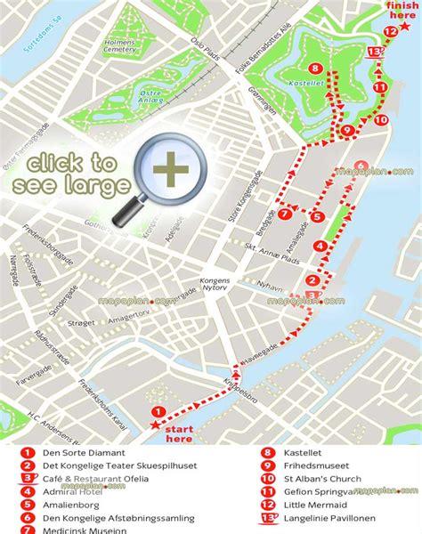 printable map copenhagen copenhagen maps top tourist attractions free