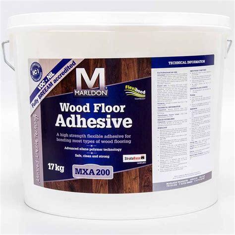 Hardwood Floor Adhesive Marldon Mxa200 Wood Flooring Adhesive 17kg