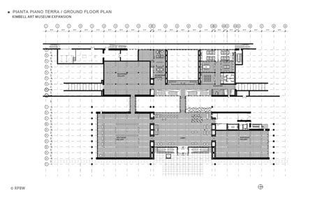 kimbell art museum floor plan kimbell art museum expansion
