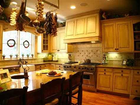 how to decorate a french country kitchen home design and